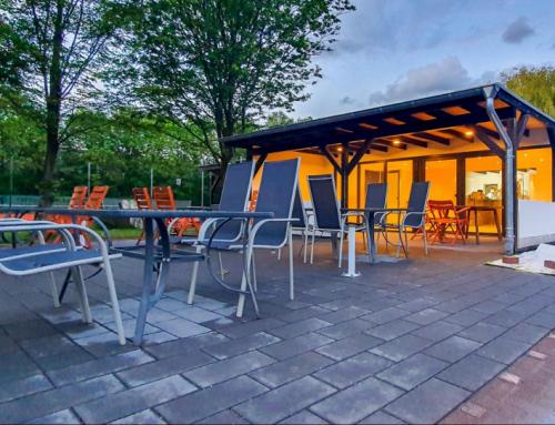 Terrasse und Clubhaus geöffnet ab Pfingstsamstag